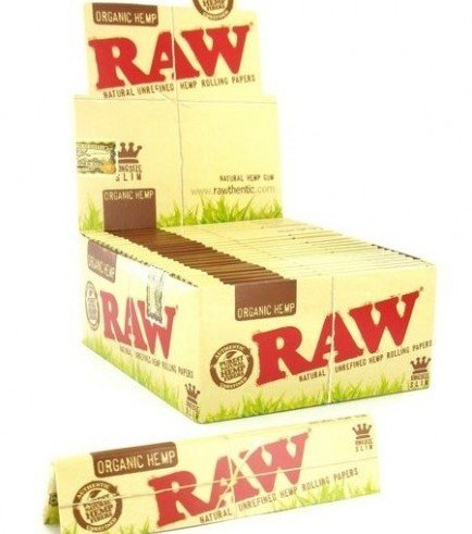 RAW Organic Hemp feuilled à rouler King Size