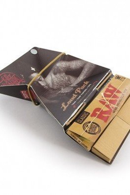 RAW Wiz Khalifa Loud Pack feuilles à rouler + Tips