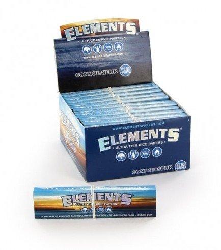 Elements Connoisseur feuilles à rouler + Tips