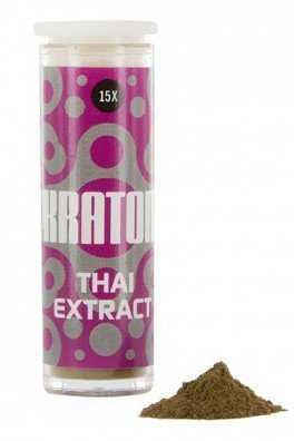 Kratom Thai 15x Extract (Mitragyna speciosa),1 gramme