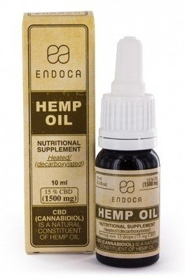Endoca Hemp Oil (15% CBD)