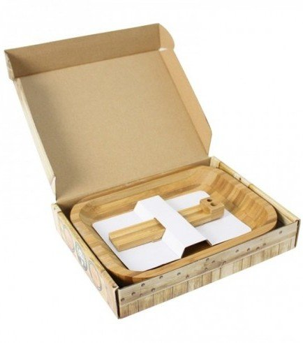 Bamboo Rolling Tray Roll Master
