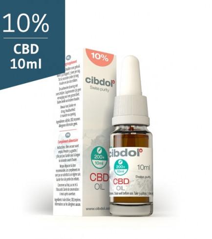 Huile de CBD Cibdol (10% CBD)