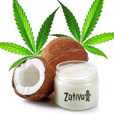 Cuisine au cannabis: huile de coco au cannabis