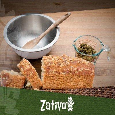 Cuisine au cannabis : pain à la banane au cannabis
