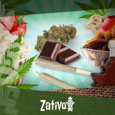 Top 5 Des Snacks Sains Pour Les Stoners